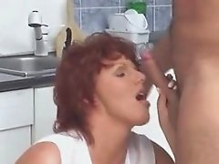 Anal On The Kitchen Floor