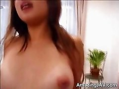 Amazingly hot Japanese babe getting part1