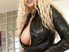 A hot spit roast is on the menu for blistering blonde Gina Lynn