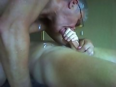 Watch me suck a delicious cock